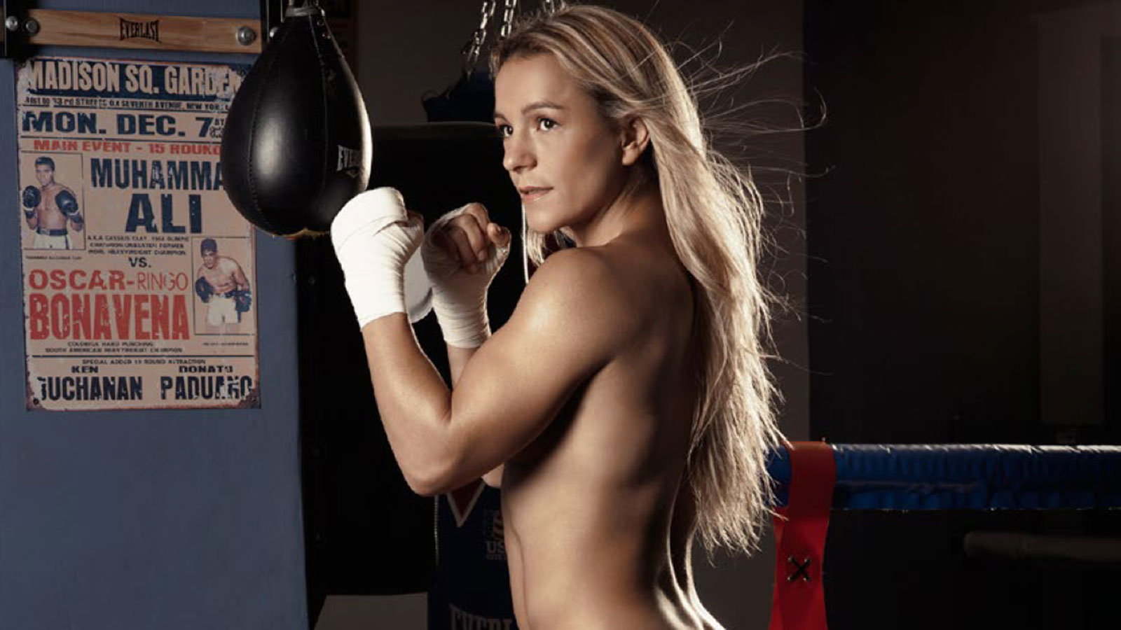Have appeared nude women boxing consider, what